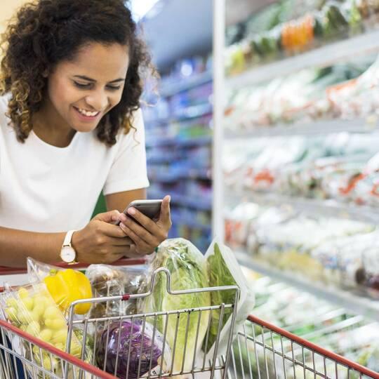 Kennenlernen beim einkaufen