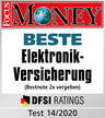 Focus Money - BESTE Elektronik-Versicherung